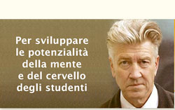 In collaborazione con Fondazione David Lynch